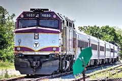 MBTA Passenger Train (robtm2010) Tags: hyannis massachusetts usa canon t3i newengland rr railroad trains mbta massbaytransitauthority pasasengertrain capecod cape