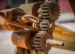 Teeth.jpg (Darren Berg) Tags: gear gears teeth rust machine hdr