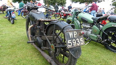 Ariel Motorcycle Reg: WP 5935 (bertie's world) Tags: lincolnshire steam rally 2016 lincoln showground ariel motorcycle reg wp5935