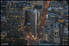 Flatiron Building (JuandeCT) Tags: estadosunidos us nuevayork sunset atardecer light nightlight night empire state