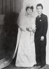 prctica 2 Torres Osorio (Nuthus) Tags: love couple truelove grandparents blackandwhite restoration wedding