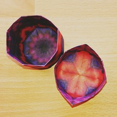 Kaleidoscope paper effect (.corsini) Tags: box singlesheetorigami origami tomokofuse