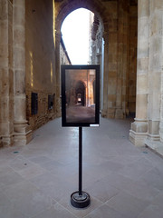 Cluny Abbey VR panel