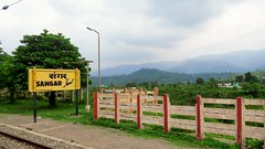 The Himalayan Backdrop (Ankur) Tags: himalayan backdrop indian railways jammu tawi udhampur kashmir valley autofocus