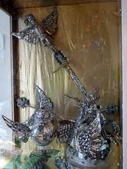 Andrew Logan Museum Of Sculpture - 11 (the justified sinner) Tags: justifiedsinner wales panasonic 17 20mm gx7 andrewlogan sculptor sculpture museum brianeno berriew alternativemissworld mirror glass