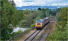 47401. Approaching Butterley ... (Alan Burkwood) Tags: midlandrlycentre butterley reservoir hammersmith 47401 northeastern diesel locomotive