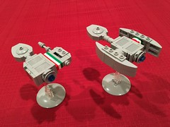 Lego Full Thrust NAC Ships (Official Regal) Tags: ship nac thrust full microspacetopia space micro microspace lego