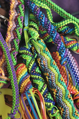 Colourful (Theresa Best) Tags: photography camp summer summercamp girlscouts scouts girlscoutcamp camping theresabest theresa best sprouting visions sproutingvisions lanyard colorful colourful craft weaving rainbow bright