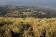 A classic lone hikers summit view. (Chris Firth of Wakey.) Tags: vojak istria crostia ucka