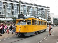 PCC (Gerard Stolk (vers l'Allemagne)) Tags: thehague lahaye haag denhaag scheveningen tram trams tramway straszenbahn streetcar pcc hovm htm geversdeynootplein