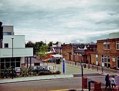 Eltham Community Hospital (Matthew Huntbach) Tags: eltham se9 passeyplace hospital halina100 110format fuisuperia200 expiredfilm