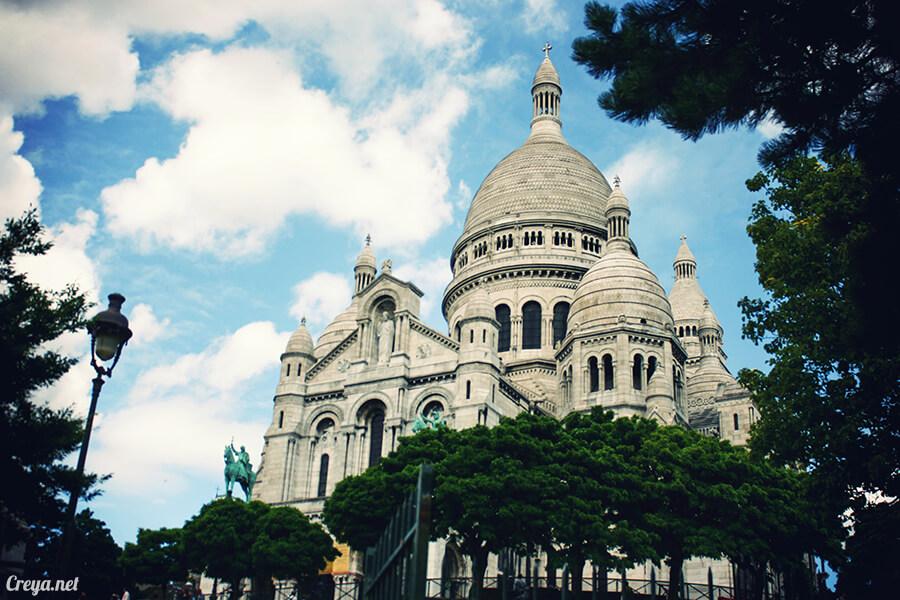 2016.10.02 ▐ 看我的歐行腿▐ 法國巴黎一日雙聖,在聖心堂與聖母院看見巴黎人的兩樣情 07