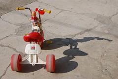 Forsaken tricycle (mastino70) Tags: nikon d80 ag 2016 italy italia piemonte piedmont vische giocattoli toy