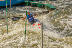 wild water (stevefge) Tags: krakow poland kayak slalom people men water sport skill reflectyourworld