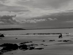 Le landau... The pram.... (alainpere407) Tags: alainpere penarbed bretagneennoiretblanc finistère camaret beach plage pram landeau saariysqualitypicturesgallery