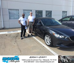 #HappyAnniversary to Jim and your 2016 #Mazda #Mazda6 from Gregory Powell at Mazda of Mesquite! (Mazda Mesquite) Tags: mazda mesquite texas tx sportscars sporty dallas dfw metroplex automotive luxury new used preowned vehicles car dealer dealership happy customers truck pickup sedan suv coupe hatchback wagon van minivan 2dr 4dr bday shoutouts