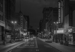 Downtown Los Angeles (drpeterrath) Tags: canon eos5dsr 5dsr dtla bw nightphotography blackwhite los angeles losangeles lacp urban urbanscape