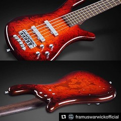 They stuff of dreams! #Repost @framuswarwickofficial  Streamer LX with AAA colored flamed Maple body wood and special threadburst finish #warwick #framus #warwickbass #bass #guitar #instrument (fpatten) Tags: they stuff dreams repost framuswarwickofficial  streamer lx with aaa colored flamed maple body wood special threadburst finish warwick framus warwickbass bass guitar instrument