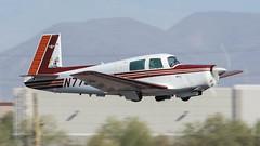 Mooney M20E N7792M (ChrisK48) Tags: 1974 aircraft airplane dvt kdvt m20 mooneym20e n7792m phoenixaz phoenixdeervalleyairport