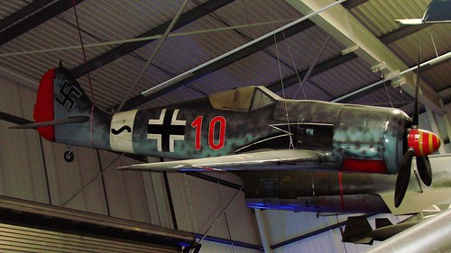Focke-Wulf Fw 190A-3 mock-up in Sinsheim