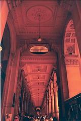 3 Milan Galleria (eleinthenorth) Tags: roadtrip love travel milan italy italie milano galleria galerie galleriavittorioemmanuele lomo pentax 35mm redscale argentique