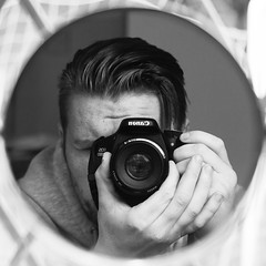 Self Portrait (jamin40) Tags: portrait self male camera canon canon600d 50mmf18 50mm mirror