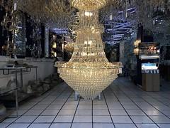 Bring the Lights Down Low (-jamesstave-) Tags: mexico mexicocity cdmx df distritofederal ciudaddemxico coloniacentro chinatown store tienda chandelier candelabro lights luces lamps lmparas hanging colgado display visualizacin sparkle glow brillo elegance elegancia iphone5s