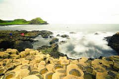 Giant`s Causeway - Long Exposure 2 - Northern Ireland (renata_souza_e_souza) Tags: ireland september 2016 trip travel giantscauseway northernireland uk geology rockformations basalt beach water