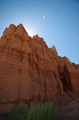 towering (anear_and_afar) Tags: rock rockformations goblinvalley redrock formations columns landscape