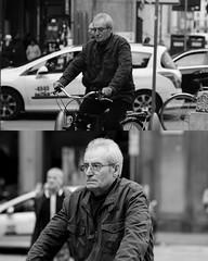 [La Mia Citt][Pedala] (Urca) Tags: 8919 milano italia 2016 bicicletta pedalare ciclicsta ritrattostradale portrait bike bicyclenikondigitale mir biancoenero bn bw blackandwhite