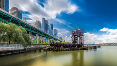Crazy cloud dancing around (phot-o-costier) Tags: wide hudsonriver structure architecture cityscape landsacpe panorama river shore water newyork nyc riverside newjersey olympus em10 mirrorless microfourthirds m43 usa pier fun outdoor ngc sky skyporn clouds cloudporn