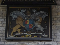 Royal Arms of George II, Harby (Aidan McRae Thomson) Tags: harby church leicestershire royalarms painting heraldic