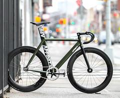 iSaw Jason's KISSENA  Brooklyn (father TU) Tags: fathertu fixedgear affinity fixie trackbike bikeporn kissena brooklyn