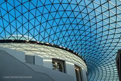 Celebrating the new millenium (Marc Haegeman Photography) Tags: london britishmuseum england uk millenium marchaegemanphotography nikon architecture ceiling building interior geometric texture gmass roof