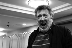 Psycho (Matas Szostak) Tags: movie psycho hitchcock scream fear terror grito people face old beard blackandwhite hotel light shadow cine portrait retato