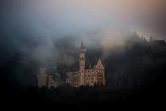 Enchanted atmosphere (impossiblejoker) Tags: schloss castle neuschwanstein bayern bavaria nebel morgennebel herbstnebel mood fog atmosphere enchanted d610 nikon autumn
