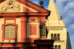 Bazilika svatho Ji (ManuelHurtado) Tags: countries places architecture art basilica building capital cathedral chapel church city culture czech europe european facade faith george historic historical history landmark medieval monument old prague religion romanesque tourism tower town travel urban