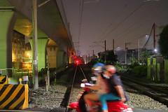 IMG_0089  (vicjuan) Tags: 20161015 taiwan   taichung fongyuan  railway geotagged geo:lat=24246083 geo:lon=12071741  train