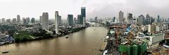 Bangkok (Ma Poupoule) Tags: ville town bangkok thailande asie pano panoramique chaopraya