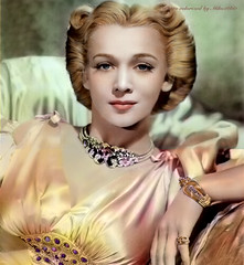 Classic Movie Actress Carole Landis colorized (miko2660) Tags: ipadart carolelandis classicmovies photopainting actress