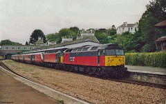 Class 47 Memories (Better Living Through Chemistry37) Tags: 47761 47812 railexpresssystems virgintrains class47 brush locomotives locos crosscounty trains transport transportation diesels diesellocomotives type4