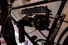 1922 Eisler motorized bicycle (The Adventurous Eye) Tags: 1922 eisler motorized bicycle motorcycle museum splnnsen pavlkov motocyklov muzeum historickch motocykl historic classic