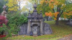048strcrpshsat (citatus) Tags: french mausoleum mount pleasant cemetery toronto canada fall afternoon 2016 pentax k3 ii