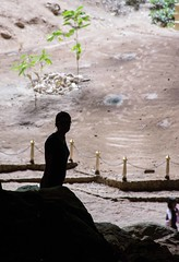 DSC_6726 (Ignacio Blanco) Tags: thailand hauhin coast ocean sea gulf gulfofthailand asia oriental orient market food seafood fish garbage plastic beach temple cave faith monkey macaque resort tourism unsustainable khaosamroiyot nationalpark limestone cliffs phrayanahkon