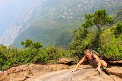 IMG_4969 (sergeysemendyaev) Tags: 2016 rio riodejaneiro brazil pedradagavea    hiking adventure best    travel nature   landscape scenery rock mountain    high forest  climbing risk dangerous