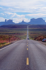 Monument Valley from Route 66 (joansorolla Creative Commons site) Tags: monumentvalley arizona utah usa eeuu landscape route66 johnford navajo v8000