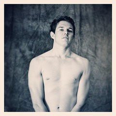 MOVE THINGS (badjonni) Tags: shirtless guy square model patrick sierra squareformat iphoneography instagramapp uploaded:by=instagram