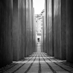 No words...Explored 1/5/13   #313 (Nathan Reading) Tags: berlin germany concrete holocaust memorial war jewish petereisenman stelae