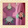 Gola girlanda (Atelier da Piccollina) Tags: flores guirlanda patchwork camiseta blusa patchcolagem patchaplique