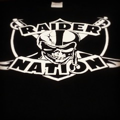 Raider Nation Skull & Swords Shirt (Shirt Boss) Tags: square oakland football nation squareformat hefe raiders raider raidernation iphoneography instagramapp uploaded:by=instagram